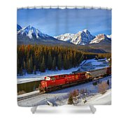 Morant's Curve Shower Curtain
