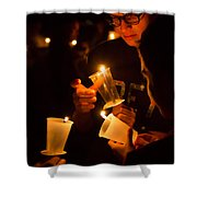 More Candles At Relay For Life Shower Curtain