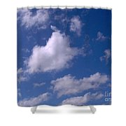 More Clouds Shower Curtain