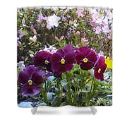 More Flowers Shower Curtain