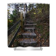 More Stairs Shower Curtain