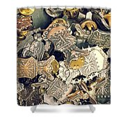 More Than Just Pot Metal 2 Shower Curtain