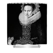Moreelse Young Lady Shower Curtain