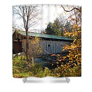 Morgan Bridge 2 Shower Curtain