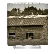Morganton Barn Shower Curtain