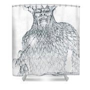 Morgoth And Fingolfin Shower Curtain