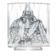 Morgoth Bauglir Shower Curtain