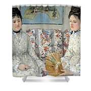 Morisot's The Sisters Shower Curtain