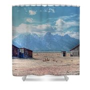Morman Row Shower Curtain by Kathleen Struckle