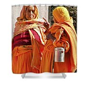 An Early Morning Dissertation - India Shower Curtain