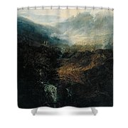 Morning Amongst The Coniston Fells Shower Curtain