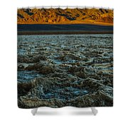 Morning At Badwater Shower Curtain