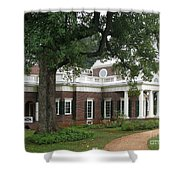 Morning At Monticello Shower Curtain