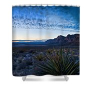 Morning At Red Rock Shower Curtain