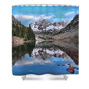 Morning At The Bells Shower Curtain