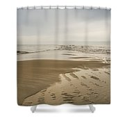 Morning At The End Of The Bar Shower Curtain