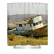 Morning At The Pt Reyes Shower Curtain by Bill Gallagher
