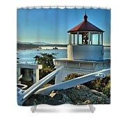 Morning At Trinidad Light Shower Curtain