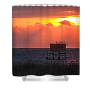 Morning Blind Shower Curtain