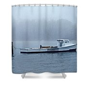 Morning Cap Shower Curtain