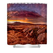 Morning Clouds Over Jugungal Shower Curtain