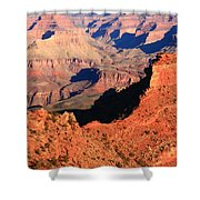 Morning Colors Grand Canyon Shower Curtain