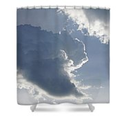 Morning Cumulus Shower Curtain