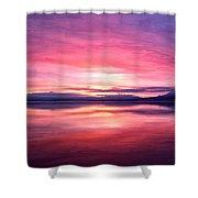 Morning Dawn Shower Curtain by Michael Pickett