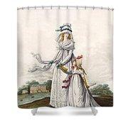 Morning Dresses, Fig. 63 & Fig. 64 Shower Curtain