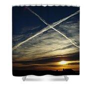 Morning Exaltation Shower Curtain