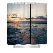 Morning Fishing Shower Curtain