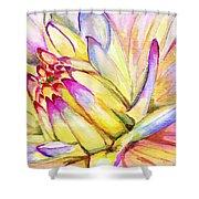 Morning Flower Shower Curtain