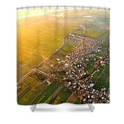 Morning Glory At River Nile Shower Curtain