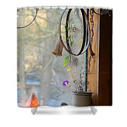 Morning Glory Dreams Shower Curtain