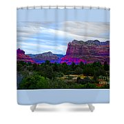 Glorious Morning In Sedona Shower Curtain