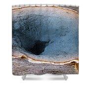 Morning Glory Pool Yellowstone Np Shower Curtain