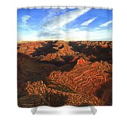 Morning Glory - The Grand Canyon From Kaibab Trail  Shower Curtain