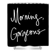 Morning Gorgeous Shower Curtain by South Social Studio