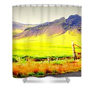 Morning Has Broken And It Will Probably Break Again  Shower Curtain