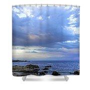 Morning Hues Shower Curtain