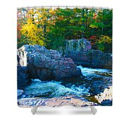 Morning In Eau Claire Dells Shower Curtain