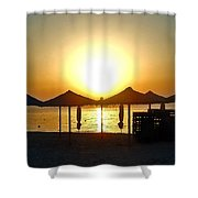 Morning In Greece Shower Curtain