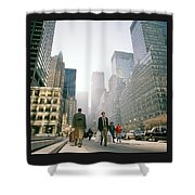 Morning In Manhattan Shower Curtain
