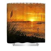 Morning Light - Florida Sunrise Shower Curtain
