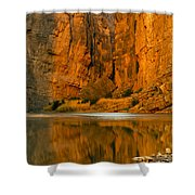 Morning Light In The Canyon Shower Curtain