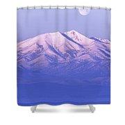 Morning Moon Shower Curtain