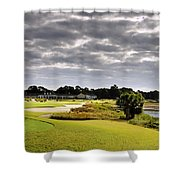 Morning On 18 Shower Curtain