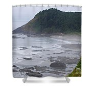 Morning On The Beach Shower Curtain