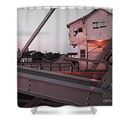 Morning On The Bridge Shower Curtain