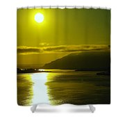 Morning On The Columbia River Shower Curtain